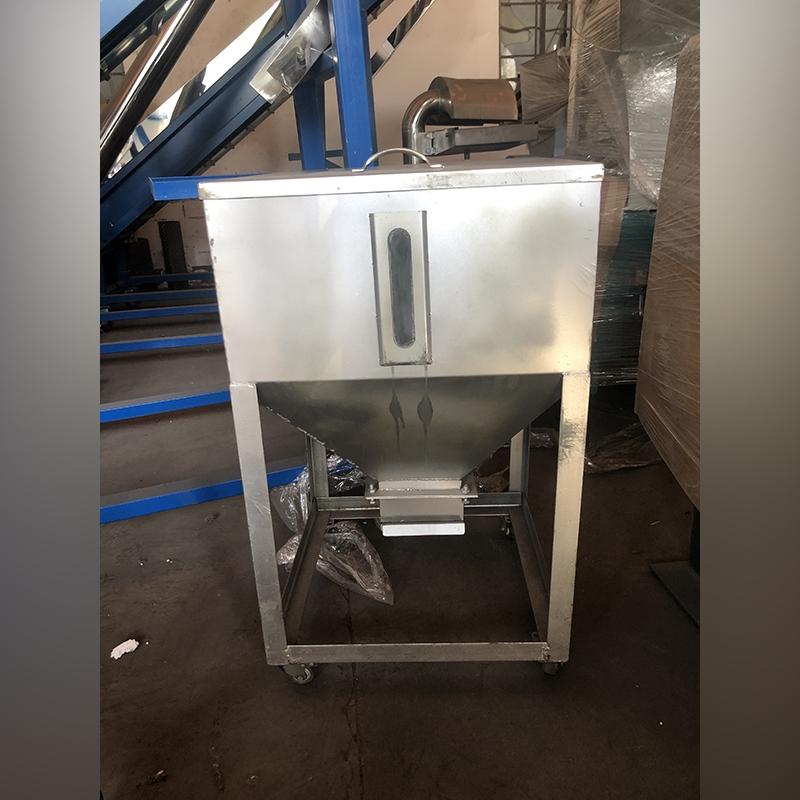 50公斤不锈钢移动料桶